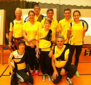 Mannschaft in Weißenburg